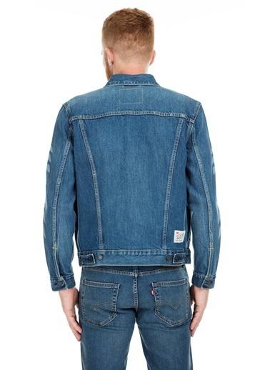 Levi's® Jean Ceket Mavi